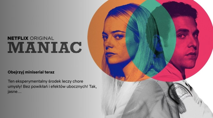 """Maniac"" - miniserial Netflix Original"