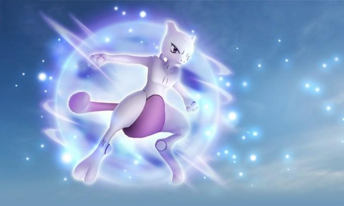 Mewtwo w raidach Pokemon GO