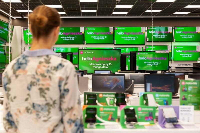 Motorola z zaskakującą akcją w sklepach (Euro RTV AGD)