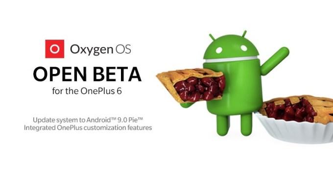 OxygenOS Open Beta (Android 9 Pie) dla OnePlus 6