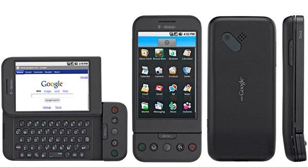 T-Mobile G1 - pierwszy telefon z systemem Android 1.0