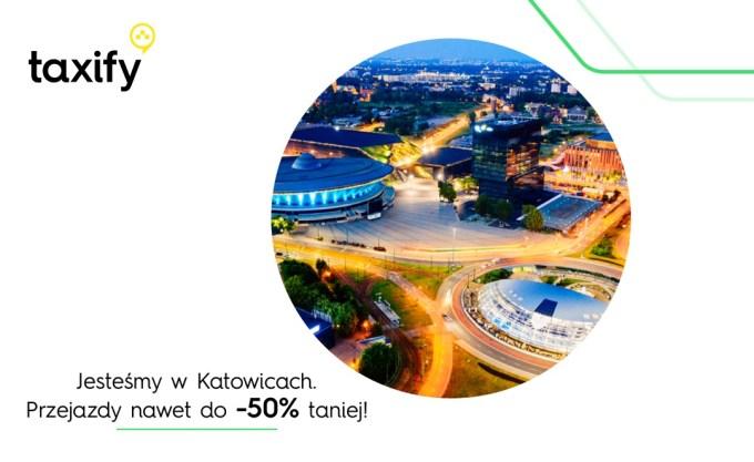 Taxify dostępne na Śląsku!