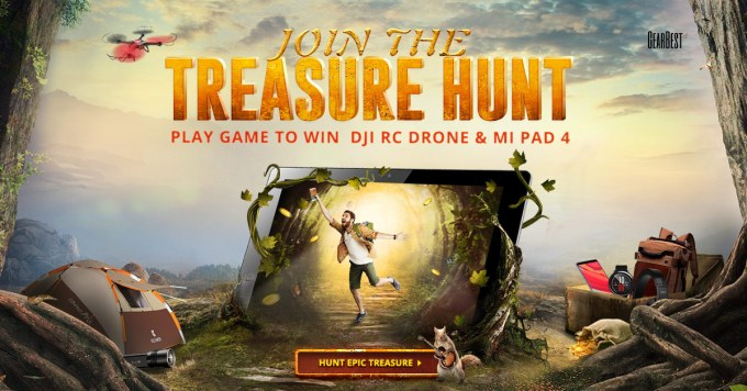 Treasure Hunt (GearBest)