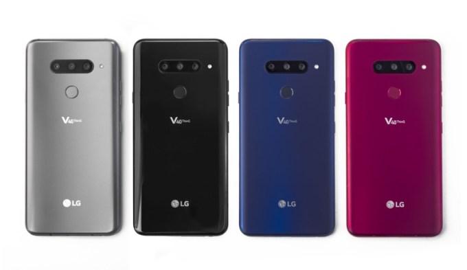 LG V4 ThinQ (kolory smartfonów)