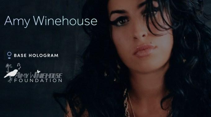 Amy Winehouse BASE Hologram