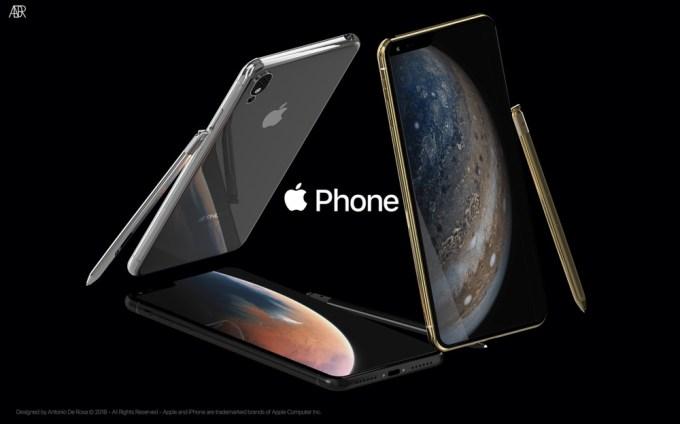 Apple Phone (fot. Antonio De Rosa)