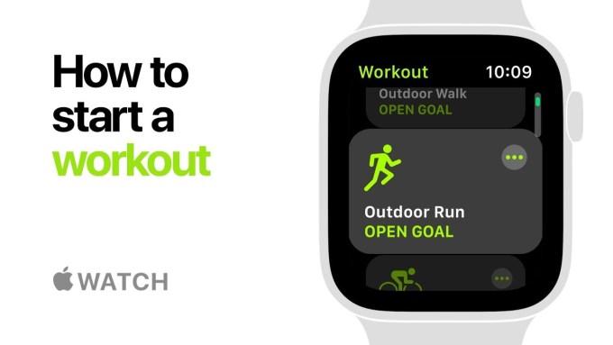Jak rozpocząć trening na Apple Watch Series 4?