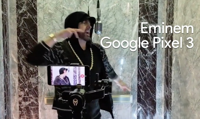 Eminem & Google Pixel 3