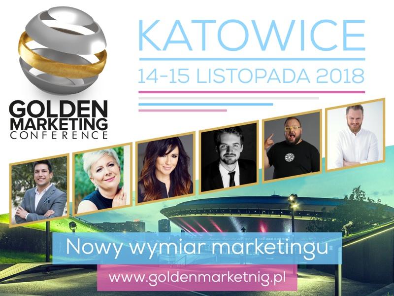 Golden Marketing Conference 2018 (14-15 listopada, Katowice)