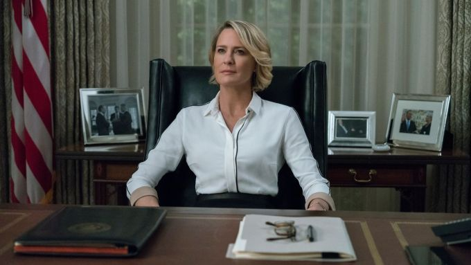 """6. sezon """"House of Cards"""" Claire Underwood"""