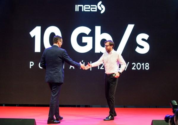 INEA jako pierwsza wprowadza internet 10 Gb/s w Polsce!