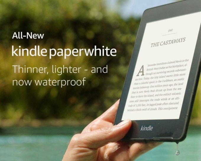 Kindle Paperwhite 4 (wodoodporny)