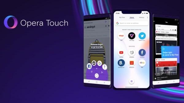Opera Touch to doskonała przeglądarka dla iPhone'a XS z 2 powodów