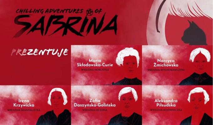 """Poczet polskich wiedźm wg Netflixa (""""Chilling Adventure of Sabrina"""")"""