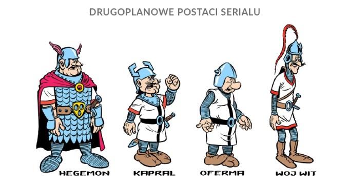 Postacie drugoplanowe: Hegemon, Kapral,  Oferma, zbójcerze (fot. mat. prasowe)