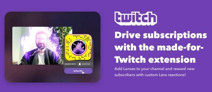 Wtyczka Snap Camera dla serwisu Twitch