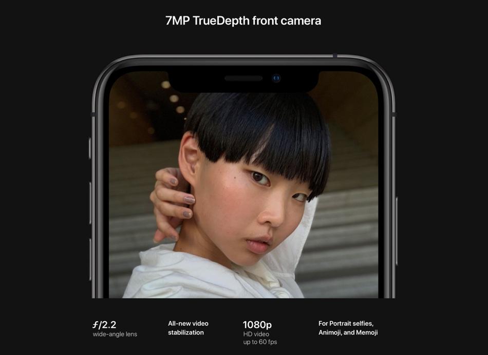 7 MP TrueDepth Camera iPhone XS