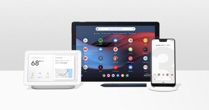 Urządzenia zaprezentowane podczas konferencji Made by Google 2018: Pixel 3, Google Pixel Slate, Google Home Hub
