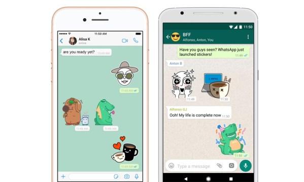 Teraz możesz wysyłać naklejki do znajomych z WhatsAppa