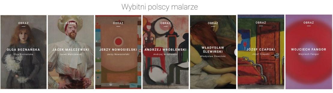 Wybitni polscy malarze i ich obrazy w Google Art&Culture