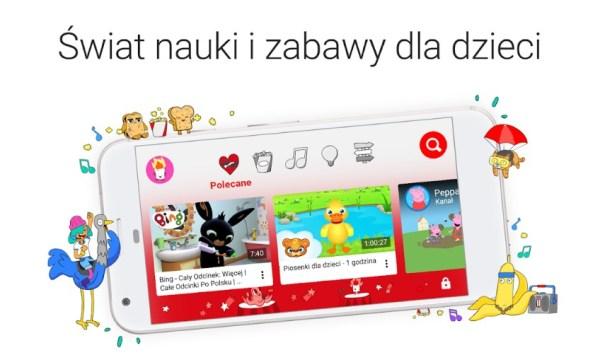 YouTube Kids już w Polsce – wyjątkowe treści dla całej rodziny