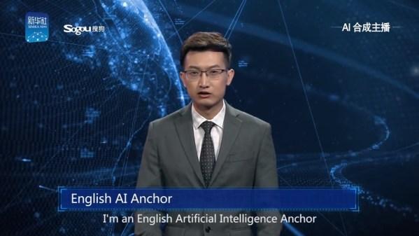 Chińska telewizja użyła prezenterów wygenerowanych komputerowo