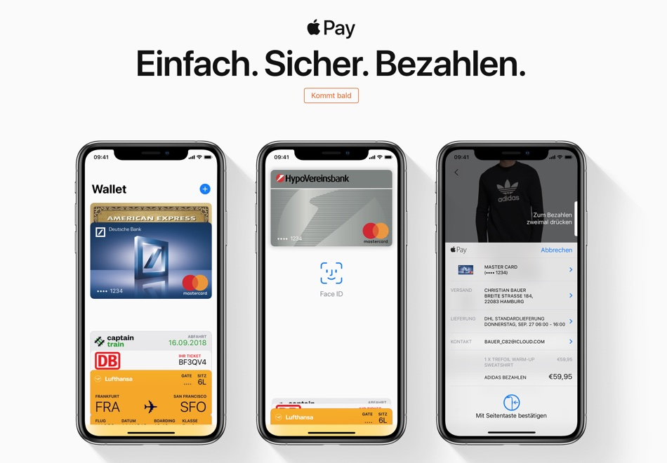 Apple Pay w Niemczech