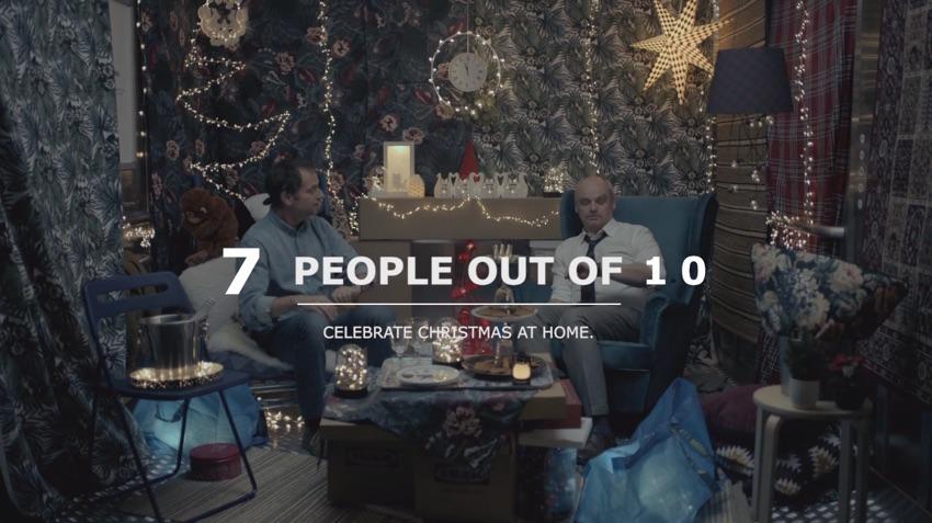 """Ikea Italy """"Lift"""" reklama świąteczna 2018"""