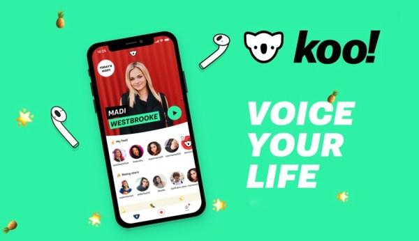 Koo! to sieć społecznościowa z krótkimi podcastami