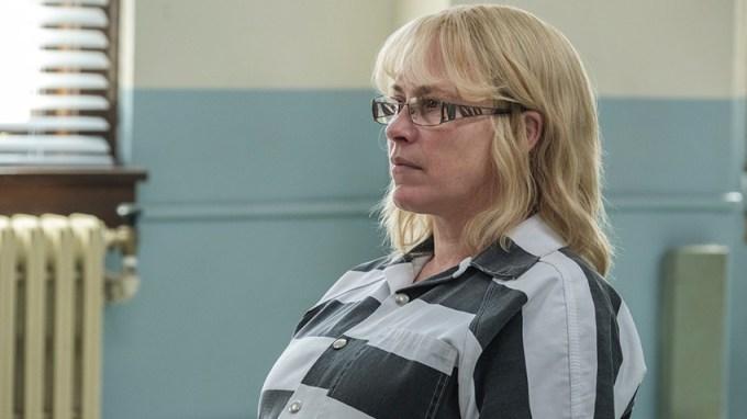 "Patricia Arquette jako Tilly w serialu ""Ucieczka z Dannemory"" (Escape at Dannemora, odc. 1)  -Photo: Chris Saunders/SHOWTIME"