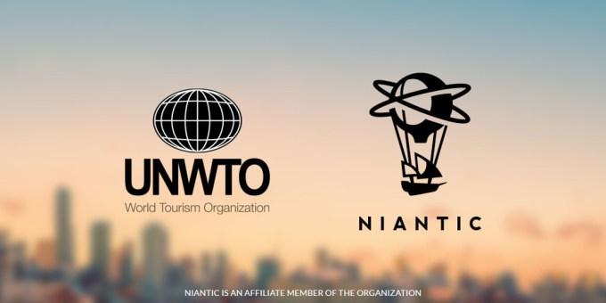 UNWTO i Niantic (logo)