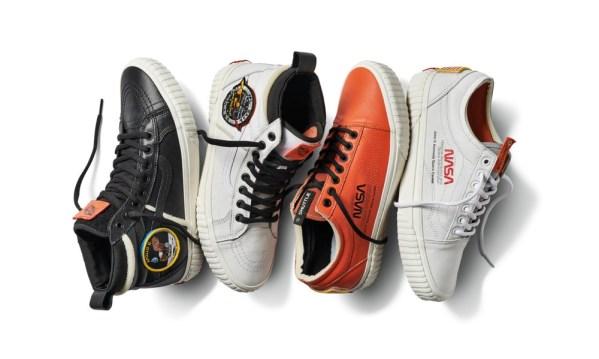 Kolekcja NASA butów marki Vans dla nerdów!