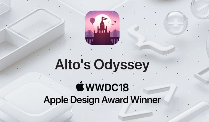 Alto's Odyssey WWDC18 Apple Design Award Winner