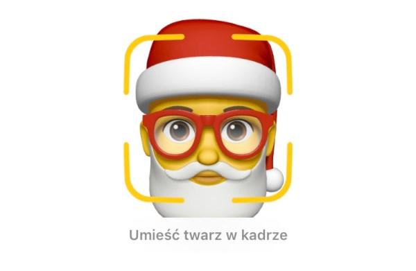 Jak utworzyć Memoji Świętego Mikołaja 🎅🏻  pod iOS 12?