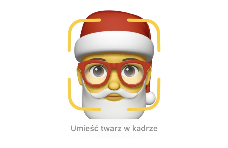 Animoji/Memoji ze Świętym Mikołajem pod iOS 12