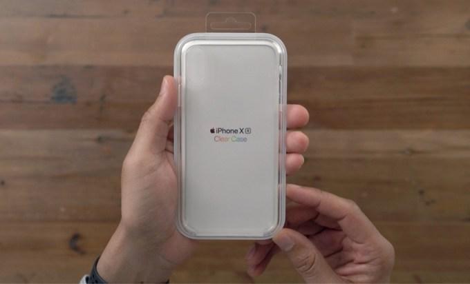 Przezroczyste etui do iPhone'a XR