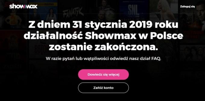 Showmax do 31 stycznia 2018 r.