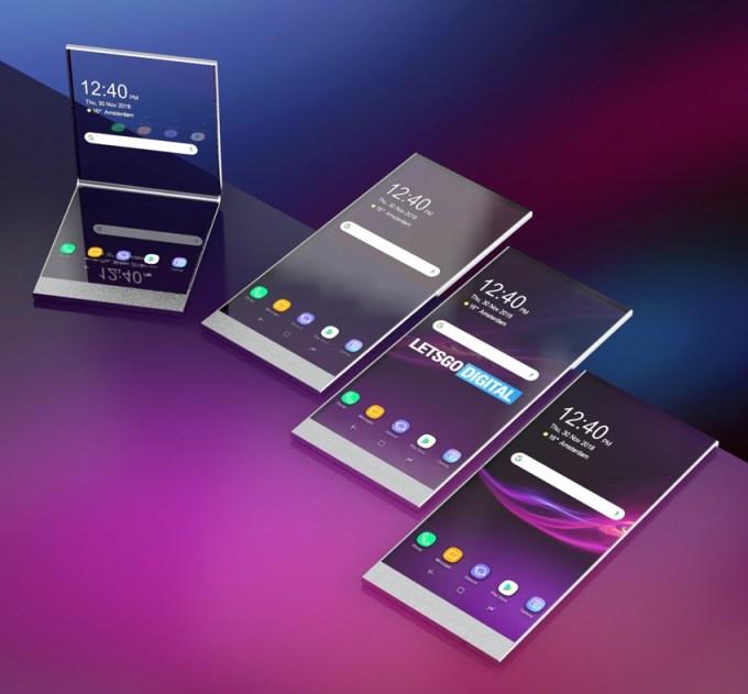 Koncepcja przezroczystego smartfona od Sony