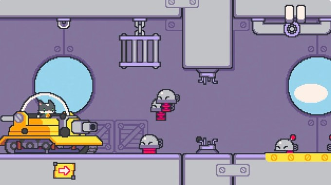 Zrzut ekranu z gry Super Cat Tales 2