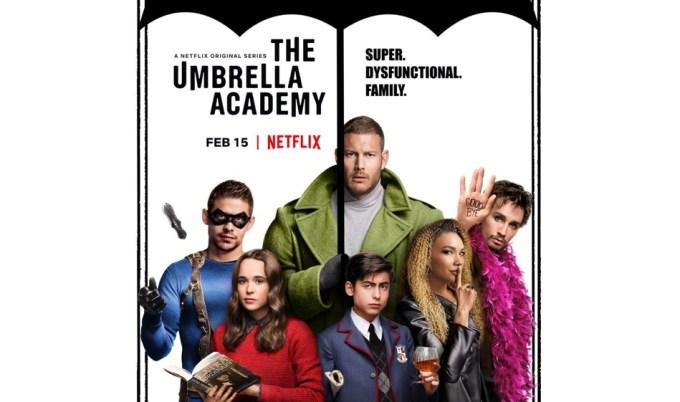 Serial the Umbrella Academy (Netflix, 2019)