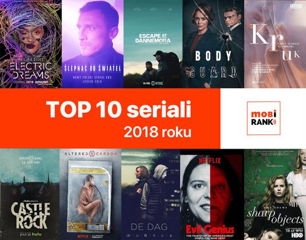 TOP 10 seriali 2018 roku, które musisz obejrzeć