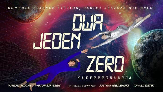 "Polska komedia science fiction ""Dwa, Jeden, Zero"""