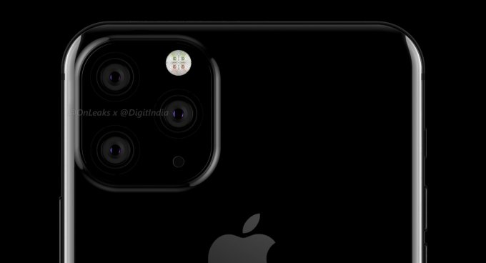 Projekt iPhone'a z 3 kamerami (fot. Digit)