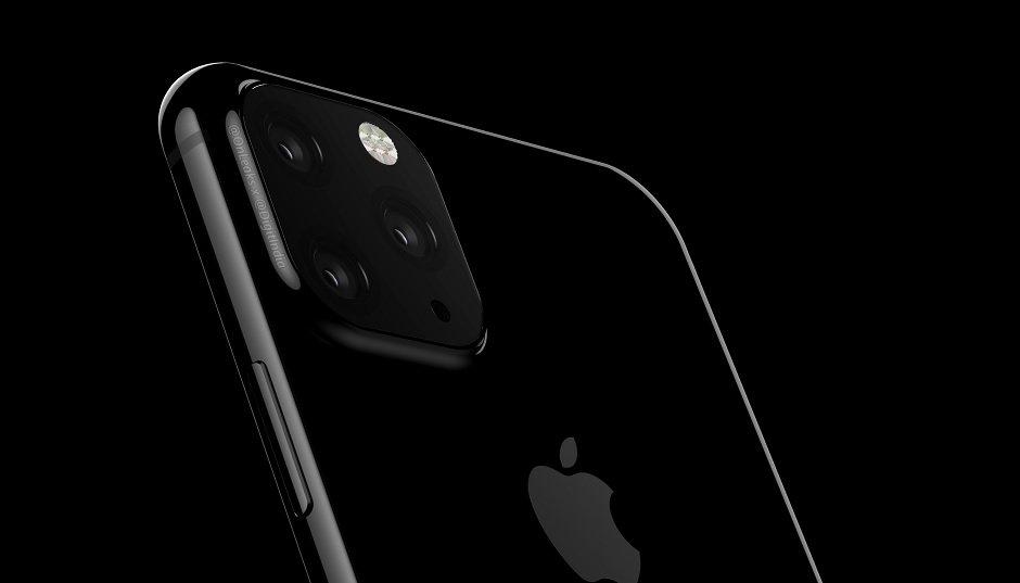 Projekt iPhone'a z 3 kamerami