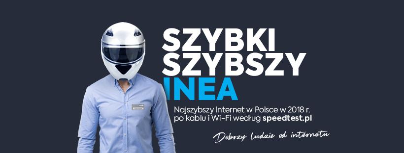 INEA ma najszybszy internet w Polsce