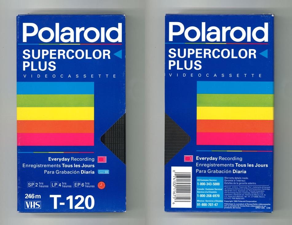 Polaroid Supercolor Plus T-120
