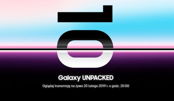 Samsung Galaxy S10 pojawi się 20 lutego 2019 r.