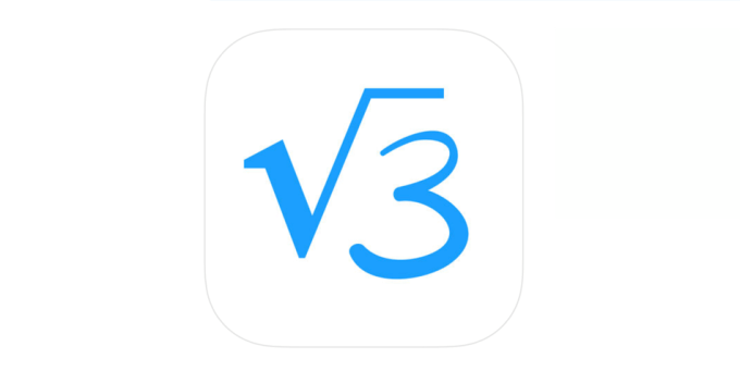 logo aplikacji mobilnej MyScript Calculator