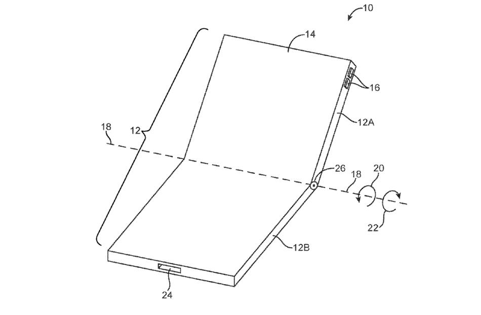 Patent elastycznego wyświetlacza Apple