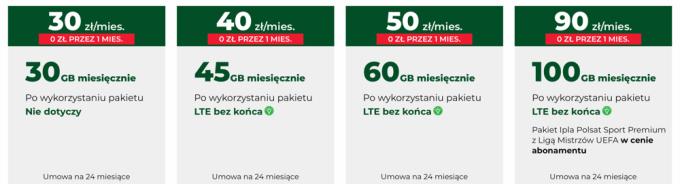 Internet mobilny z routerem w Plusie